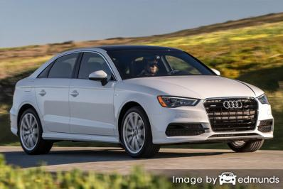 Insurance rates Audi A3 in Newark