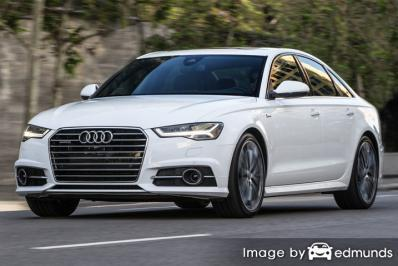 Insurance rates Audi A6 in Newark
