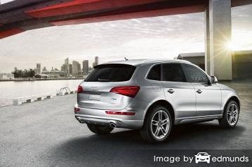 Insurance rates Audi Q5 in Newark