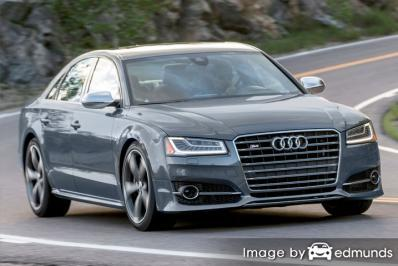 Insurance quote for Audi S8 in Newark