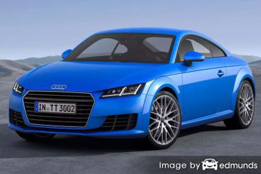 Insurance quote for Audi TTS in Newark
