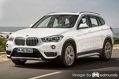Insurance quote for BMW X1 in Newark