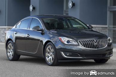 Insurance rates Buick Regal in Newark