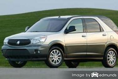 Insurance quote for Buick Rendezvous in Newark