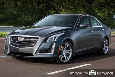 Insurance rates Cadillac CTS in Newark