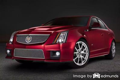 Insurance rates Cadillac CTS-V in Newark