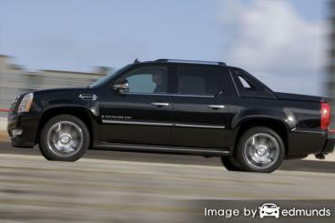 Insurance rates Cadillac Escalade EXT in Newark