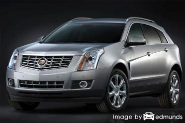 Insurance rates Cadillac SRX in Newark