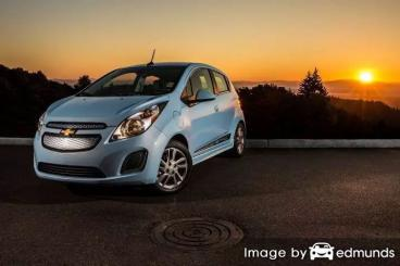 Insurance rates Chevy Spark EV in Newark