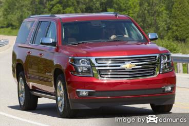 Insurance rates Chevy Suburban in Newark