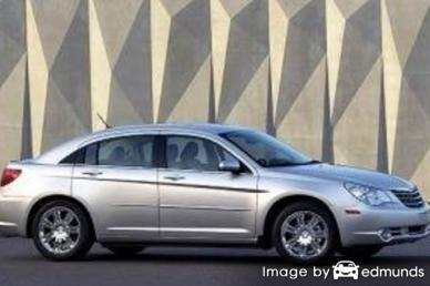 Insurance quote for Chrysler Sebring in Newark