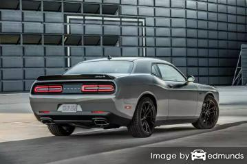 Insurance rates Dodge Challenger in Newark