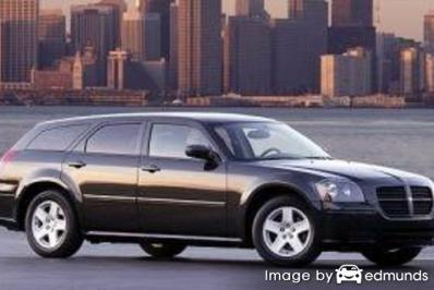 Insurance rates Dodge Magnum in Newark