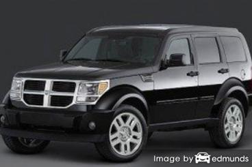 Insurance rates Dodge Nitro in Newark
