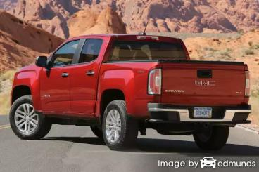 Insurance quote for GMC Canyon in Newark