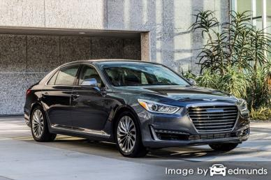 Insurance quote for Hyundai G90 in Newark