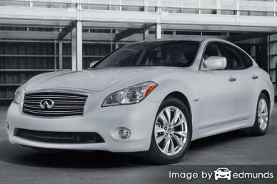 Insurance rates Infiniti M37 in Newark