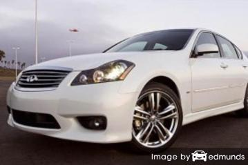 Insurance rates Infiniti M45 in Newark