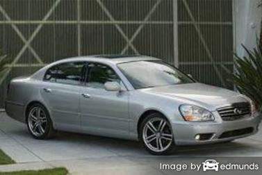 Insurance quote for Infiniti Q45 in Newark