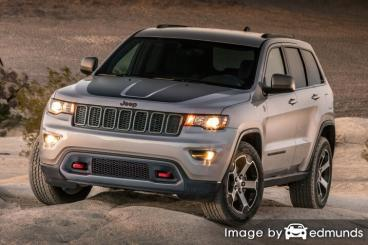 Insurance quote for Jeep Grand Cherokee in Newark