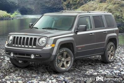 Insurance quote for Jeep Patriot in Newark