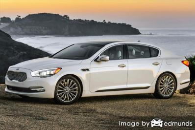 Insurance quote for Kia K900 in Newark
