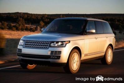 Insurance quote for Land Rover Range Rover in Newark