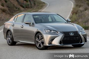 Insurance quote for Lexus GS 200t in Newark