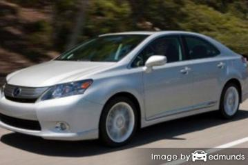 Insurance quote for Lexus HS 250h in Newark