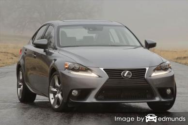 Insurance quote for Lexus IS 350 in Newark