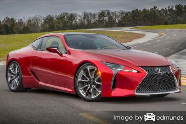 Insurance quote for Lexus LC 500 in Newark