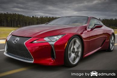 Insurance rates Lexus LFA in Newark