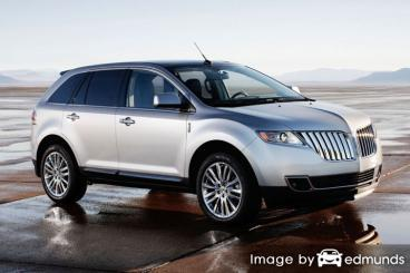 Insurance quote for Lincoln MKT in Newark
