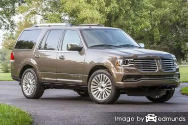 Insurance quote for Lincoln Navigator in Newark