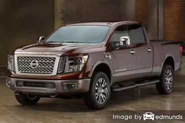 Insurance rates Nissan Titan XD in Newark