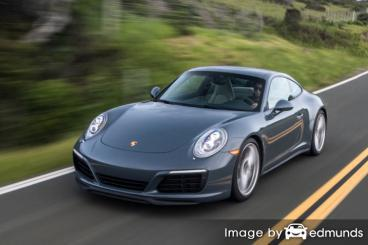 Insurance rates Porsche 911 in Newark
