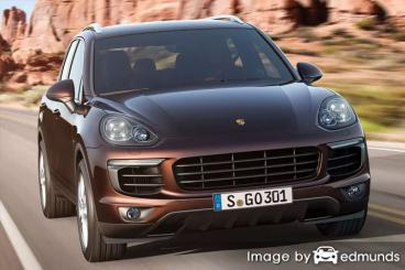 Insurance rates Porsche Cayenne in Newark