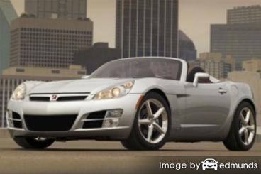 Insurance quote for Saturn Sky in Newark