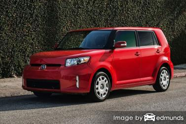 Insurance quote for Scion xB in Newark