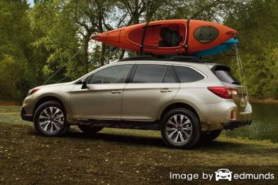 Insurance quote for Subaru Outback in Newark