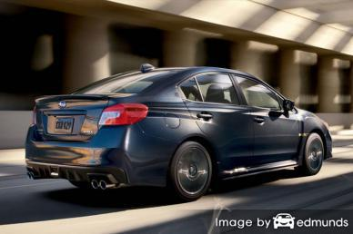 Insurance quote for Subaru WRX in Newark