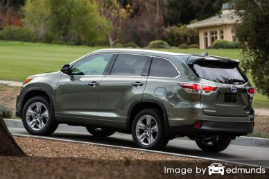 Insurance quote for Toyota Highlander Hybrid in Newark